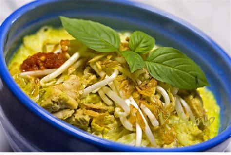 resep laksa ayam kuliner indonesia