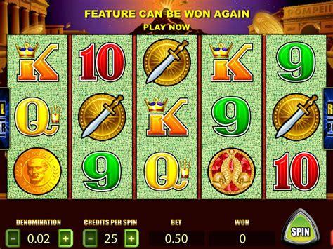 pompeii slot machine play   casino game