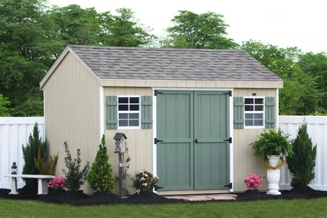 buy diy storage shed kits  built  site kits
