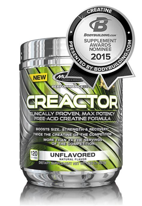 x revolution creatine creactor muscletech