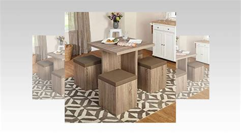 5 piece baxter dining set with storage ottoman multiple colors piece baxter dining set with storag with dining room sets