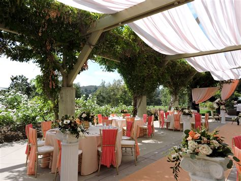 outdoor wedding reception orange county ca fullerton wedding venues at coyote cc receptions
