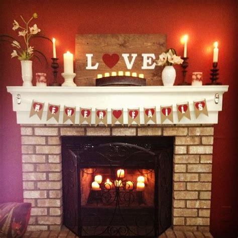 20 gorgeous valentine s day mantel d 233 cor ideas
