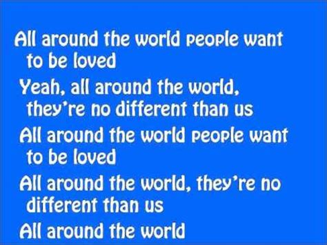 all around the world 1854379763 justin bieber all around the world lyrics on screen ft ludacris youtube