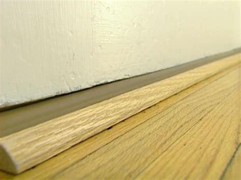 installing exterior door threshold how to install a door threshold with vinyl bulb how tos