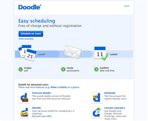 doodle gmail calendar 11 meeting planners practical ecommerce