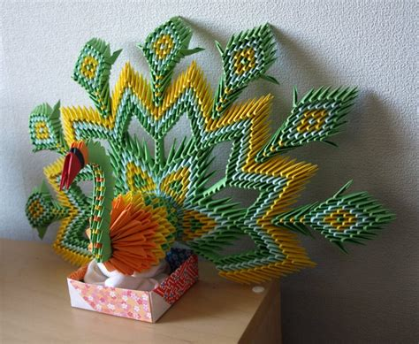 tutorial pavo real origami 3d crea figuras 3d con papel tut 233 ate
