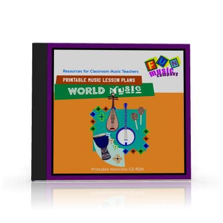 Printable Music Lesson Plans World Music | world music teaching materials resources for music education