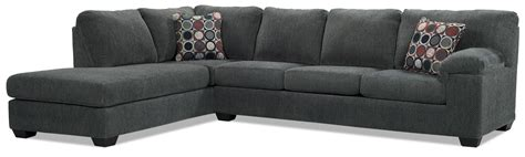the brick sofa bed sectional morty 2 chenille left facing sofa bed sectional