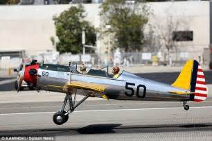harrison ford flies a aircraft from