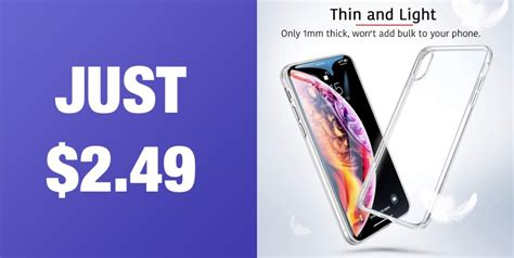 great deal iphone xs max 1mm thin for just 2 49 original price 11 99 redmond pie