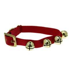 jingle bell dog collar red baxterboo