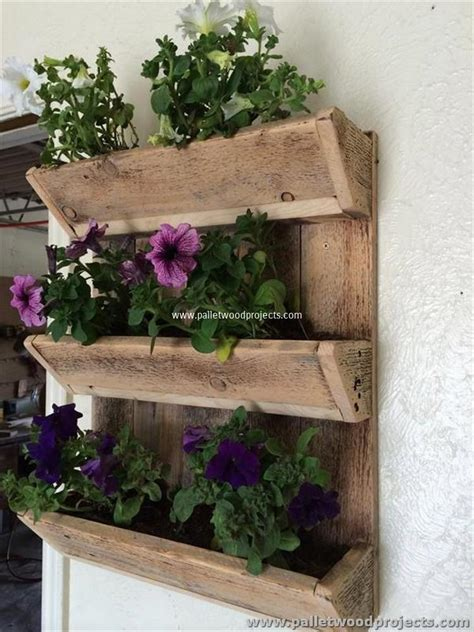 wall planter adorable pallet wall planter ideas pallet wood projects