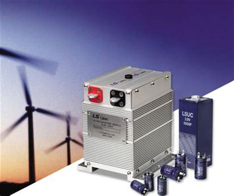 ultracapacitor energy storage ultracapacitors from ls cable