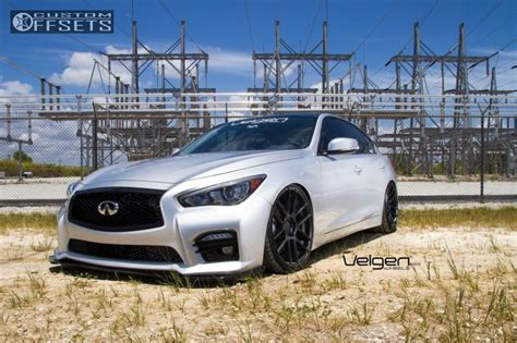 infiniti fx50 lowered 2014 infiniti q50 velgen wheels vmb6 bc racing lowered adj