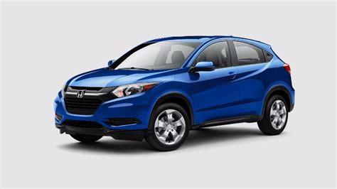 2018 Honda HR V aegean blue metallic o   Continental Honda