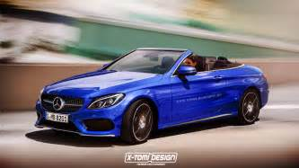 mercedes amg c43 and c class convertible to debut in