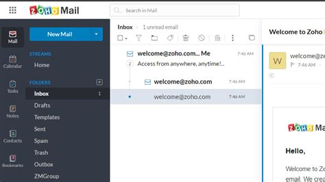 zoho mail 9 of the best free email accounts for 2017