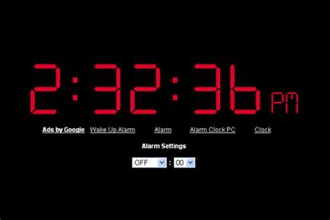 online clock free virtual online alarm clocks blueblots com
