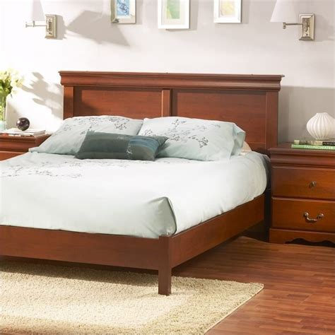 cherry headboard queen south shore vintage full queen cherry finish headboard
