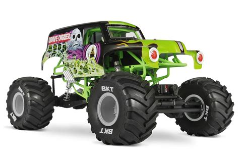grave digger toy monster truck axial introduces smt10 grave digger video rc car action