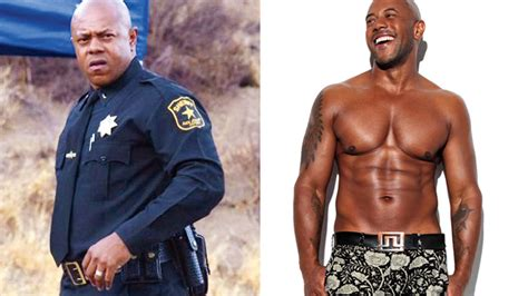 mike colter healthy celeb celebrity transformation from fat to fit muscle fitness