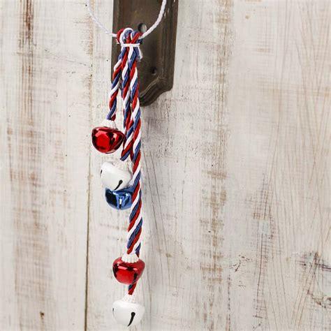 Decorative Door Knob Hangers by Patriotic Jingle Bell Door Knob Hanger Americana Decor Home Decor