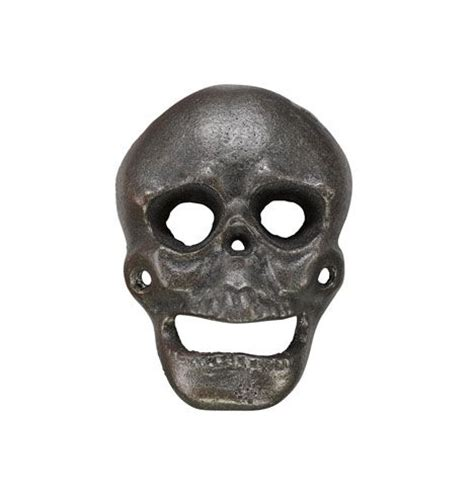 Backyard Skulls by Wall Mount Skull Bottle Opener Cast Iron This Is A Whole