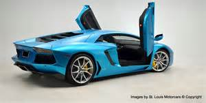 Blue Lamborghini For Sale Lamborghini Aventador Blue Wrap For Sale 4 Images Blue