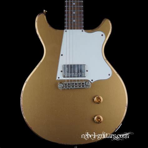 rock n roll relics rebel guitars rock n roll relics thunders dc in gold rebel guitars