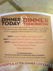 04 olive garden today tomorrow menu me so hungry