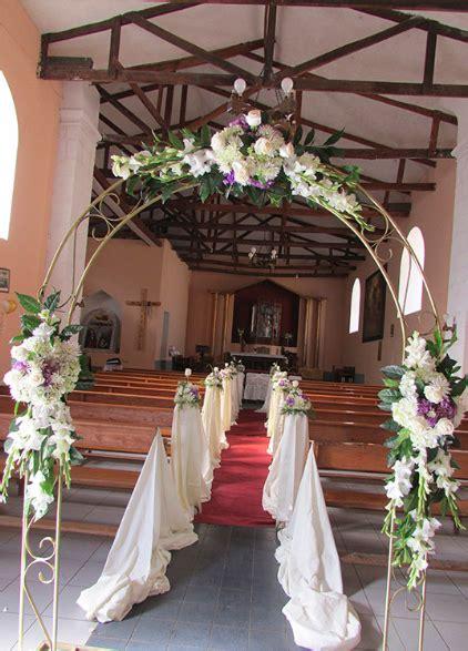 decoracion iglesia para boda economica arco para entrada de capilla florister 237 a nandallo costa rica