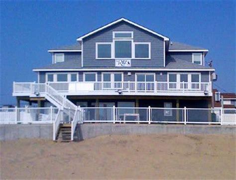 Sandbridge Beach Oceanfront Vacation Home Siebert Va House Rentals Oceanfront