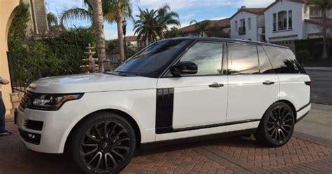burgundy range rover black rims all white range rover w black rims cars