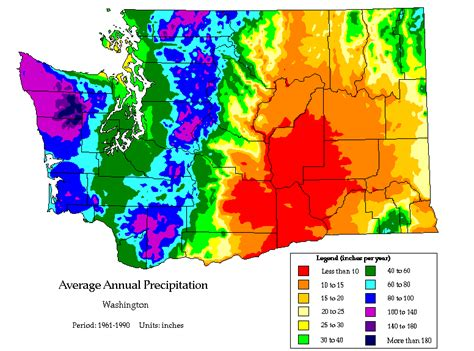 rainfall map oregon who gets plenty of location climate near