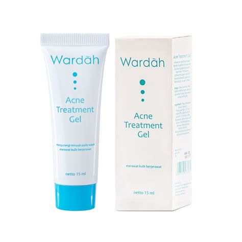 Wardah Acne Gel jual wardah acne treatment gel 15 ml gohanan