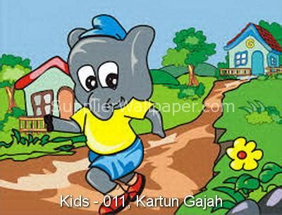 wallpaper anak gajah wallpaper dinding customized motif anak supplierwallpaper