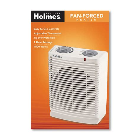 holmes 174 hfh111t u desktop heater fan with thermostat at