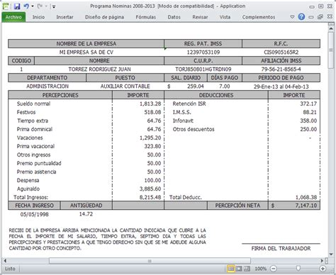 tutorial excel nomina 2012 youtube formato nomina semanal excel etame mibawa co