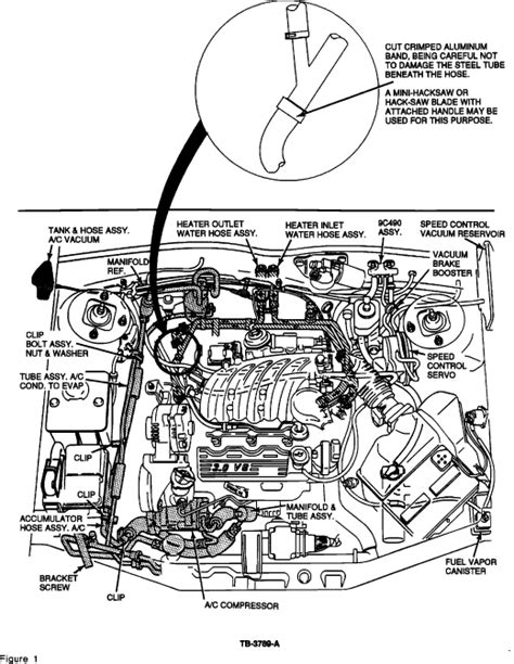 2002 ford taurus radiator hose diagram ford taurus heater hose diagram pictures to pin on