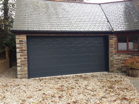 hörmann garagen hormann lpu40 in ral7016 anthracite south west garage doors