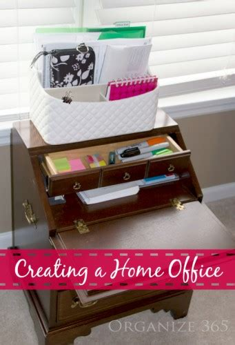 Office Organization Supplies by Organizing Home Office Supplies Organize 365