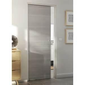 porte seule summa gris clair castorama