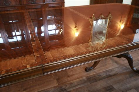 Drexel Dining Room Set mahogany conference table large conference tables