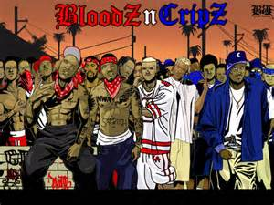 Cribs Vs Bloods by Bloods Crips Everythings Gonna C Alright Remix Slowed N