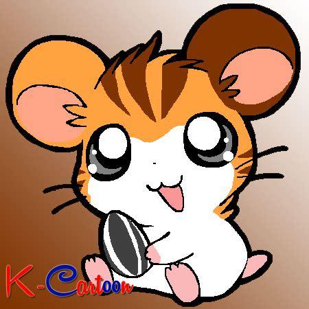 gambar karakter kartun hamster hamtaro png jpeg  kartun