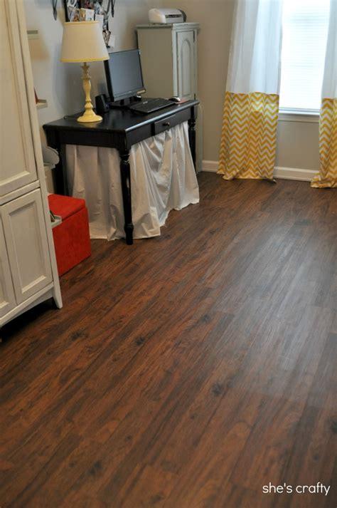 shes crafty vinyl plank flooring aka fake wood floors