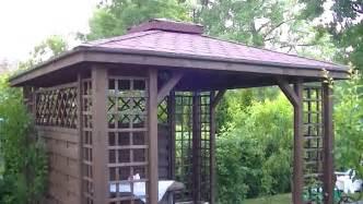 Build Your Own Gazebo Gazebo Pergola Construction Diy Installation How To