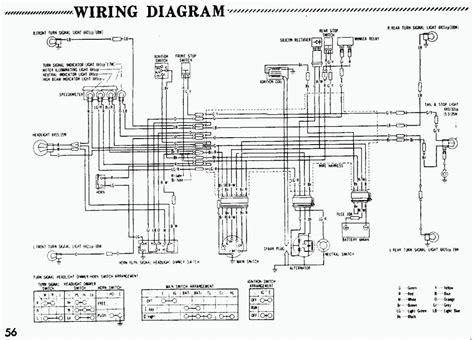 1980 honda atv wiring diagram wiring diagram with