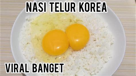 nasi campur telur viral  korea ternyata enak banget